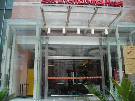 24K International Hotel Shanghai Railway Station: 外景