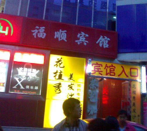 Fushun Hotel : 外景