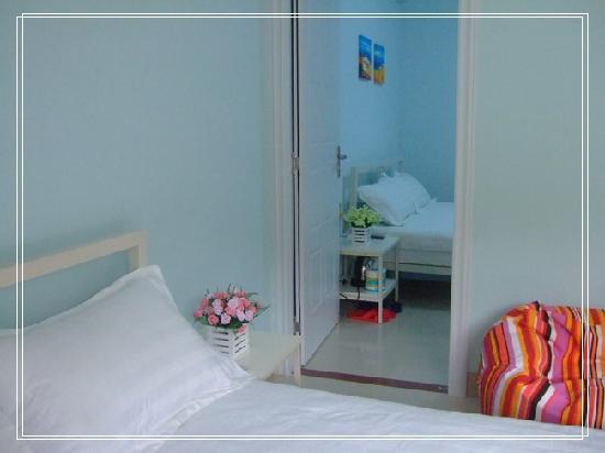 Doudou Tinghai Hostel: 绿豆听海六号套房