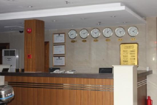 Motel 168 (Shanghai Dabaishu): 大堂2