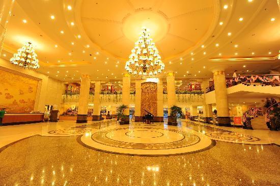 Guoxi Hotel: 豪华的大堂