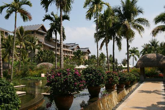 ฮิลตัน รีสอร์ทแอนด์สปา: 酒店园景