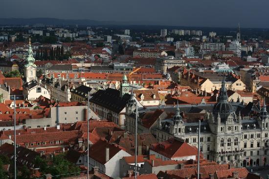 Graz, Østrig: 俯瞰格拉茨