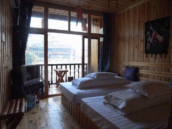 Gutong Hostel : 特色标准间
