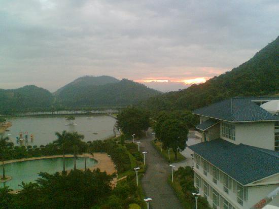 Long Chan Resort: 日出