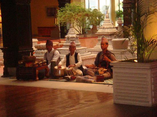 Hyatt Regency Kathmandu : 大堂