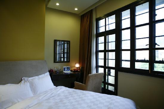 KeTangJian Boutique Hotel (Wuyuan Road): 舒适的大床