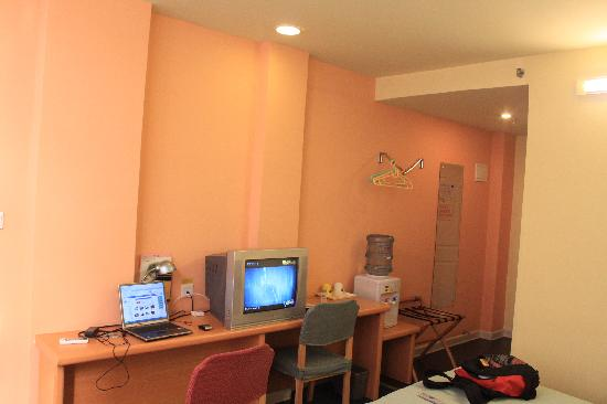 Home Inn Wuhan Huanghelou Shouyi Road Metro Station: 屋内大体环境