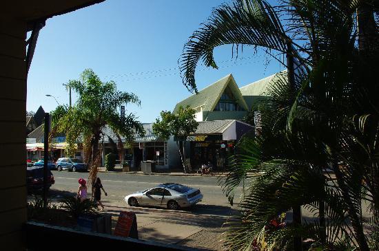 Airlie Beach YHA: 阳台外的景色