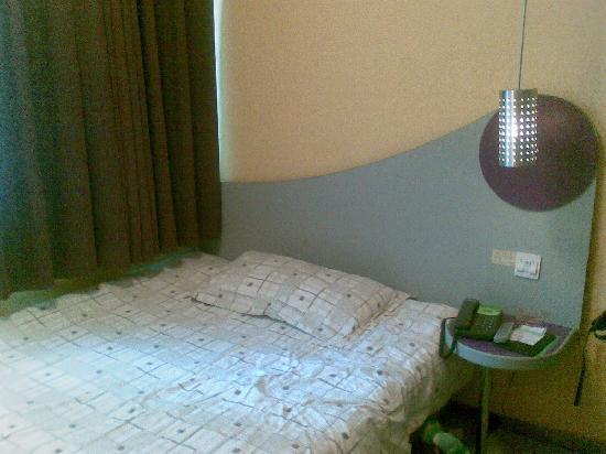 Motel Yotel QQ (Jinhua Yangguang Road) : 床