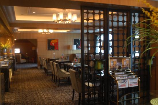 Seaview Garden Hotel: 商务酒廊特写之二. Club Lounge -2