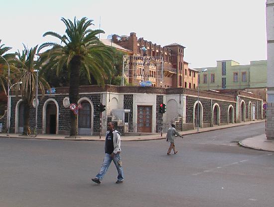 Eritrea: 阿斯马拉的街道