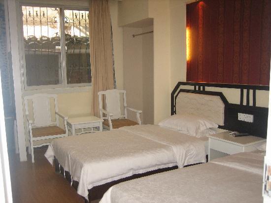Jiangjinlou Hotel : 酒店标准间