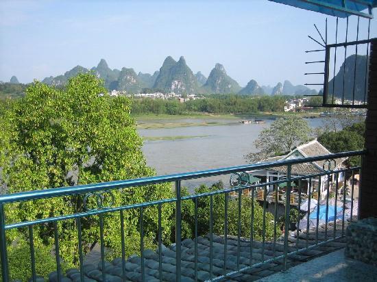 Jiangjinlou Hotel : 豪华观景房的外景
