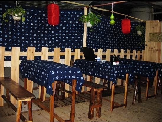 "Qinghuaci Home Hostel : 天台""小院子里""的时光"