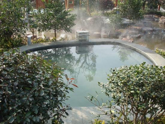 Ramada Plaza Wuxi: 温泉