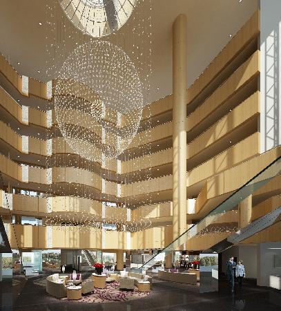 Crystal Palace Hotel: 酒店大堂
