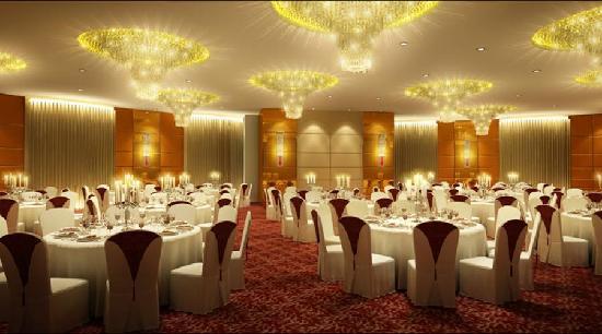 Crystal Palace Hotel: 宴会厅