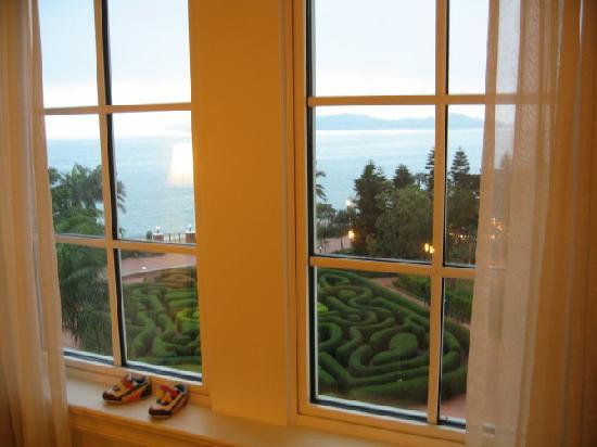 Hong Kong Disneyland Hotel: 窗外的风景