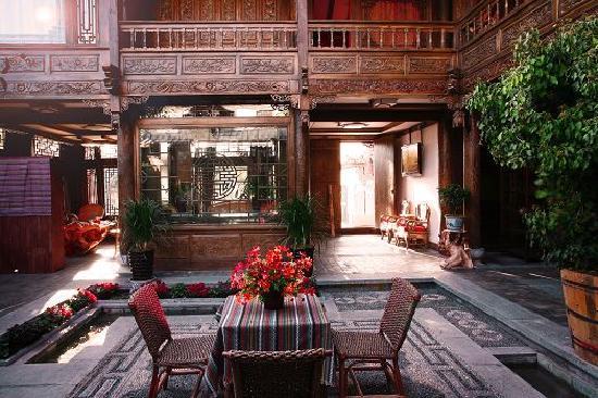 Yaleju Boutique Courtyard Hostel: 客栈院落