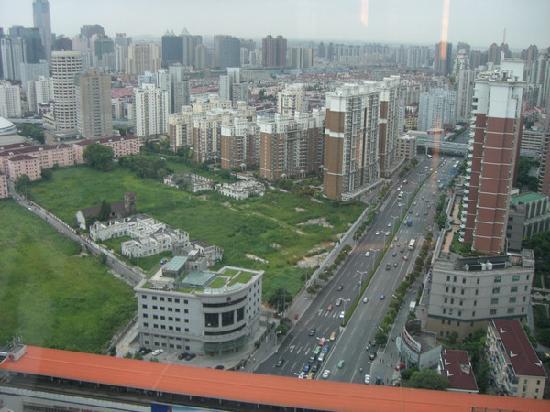 Renaissance Shanghai Zhongshan Park Hotel: 窗外