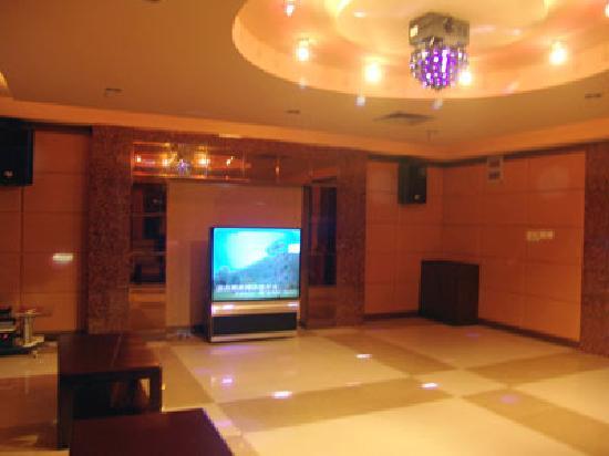 Motel 168 Shanghai Jiading Bao'an Main Road F1 Speedway: 卡拉ok厅
