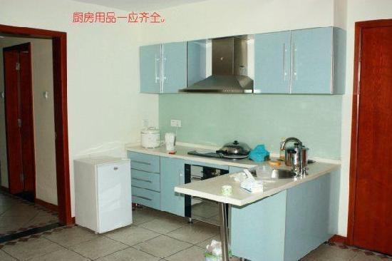 Yomovo Vacation Apartments: 厨房