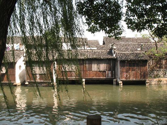 Wuzhen Water Town : 乌镇的小河和民居