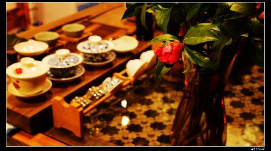 วาเหมา อินน์: 从北京带来的茶具