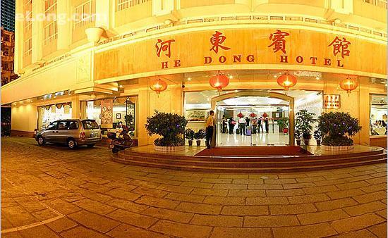 Hedong Hotel : 傍晚的酒店