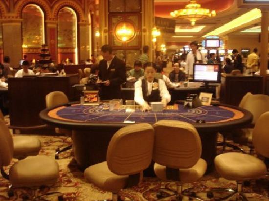 Casino at Venetian Macao: 赌场