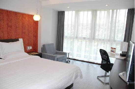Fairyland Hotel (Tuodong Kunming): 我住的商务大床间就这样