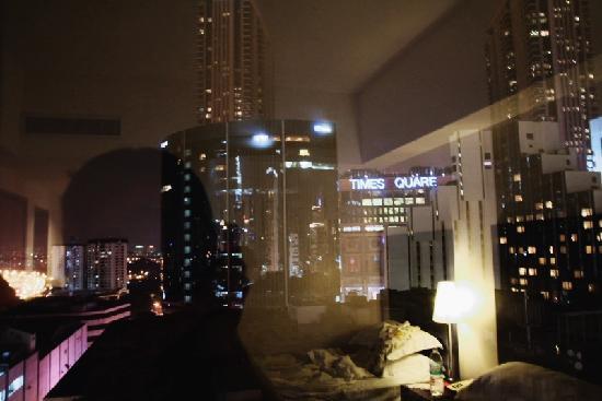 Capitol Hotel: 从房间看出去的夜景