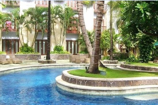 Hard Rock Hotel Bali: 游泳池