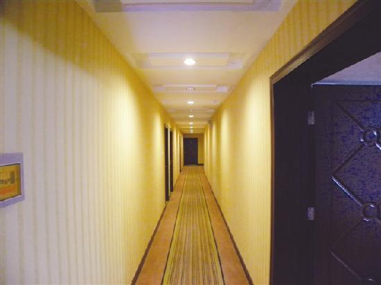 Risheng Hotspring Hotel: 走廊