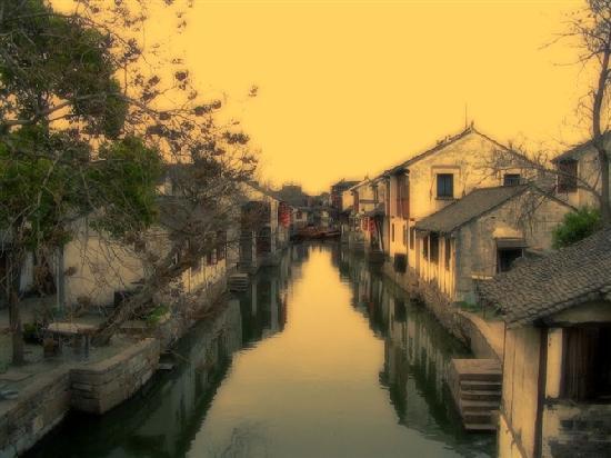 Wuzhen Water Town : 这是乌镇第一个开发的旅游景点 东栅