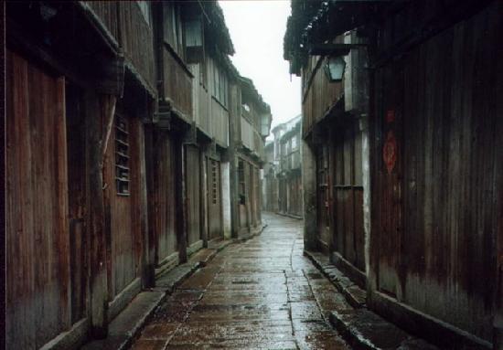 Wuzhen Water Town : 矛盾故居前的那条弄堂 还是那样的清幽