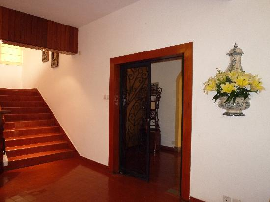 Pousada de Mong-Ha: 门口系通往用餐的地方的。