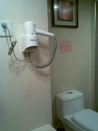 Jing Peng Hotel: 厕所一角