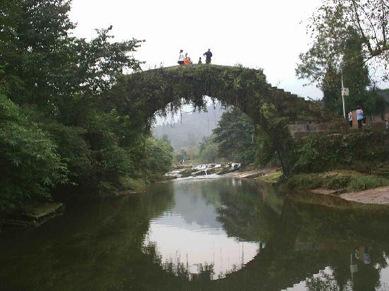 Bifengxia Panda Reserve : 上里古镇6
