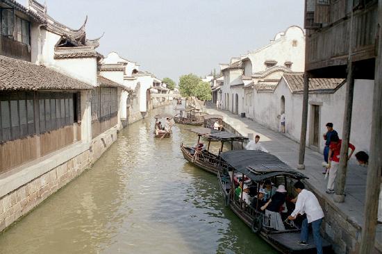 Wuzhen Water Town: 乌镇一角