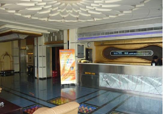 Motel 168 (Shanghai Ningxia Road): 大堂