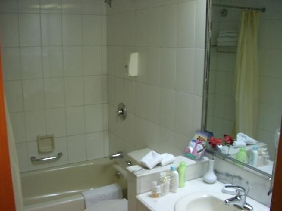 Nanhu Hotel: 套房卫生间