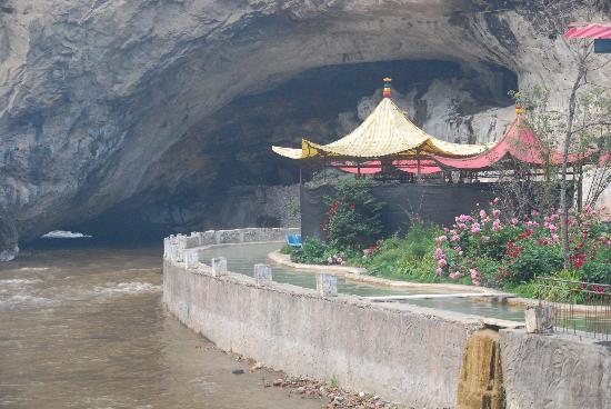 Tianshengqiao Hot Spring Resort : 温泉全景