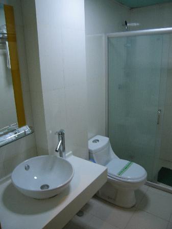 City Comfort Inn Xiamen Gulangyu Hexiang West Road: bathroom