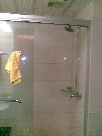 Jiu Gong Hotel: 淋浴器