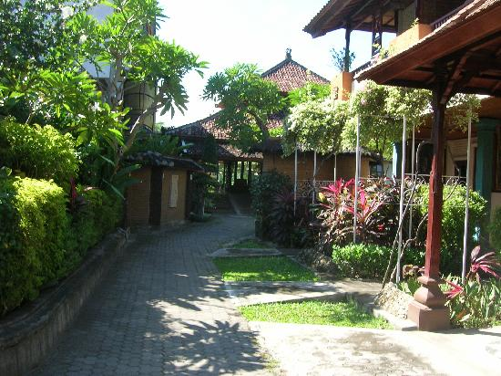 Bali Taman Resort & Spa: 花草