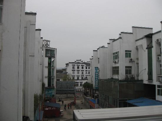 Xingjiangwan Holiday Hotel: 酒店窗外景色