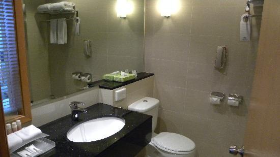 Holiday Inn Melaka: 洗手间
