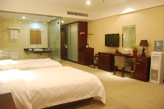 Shengji Hotel: 宽敞的客房